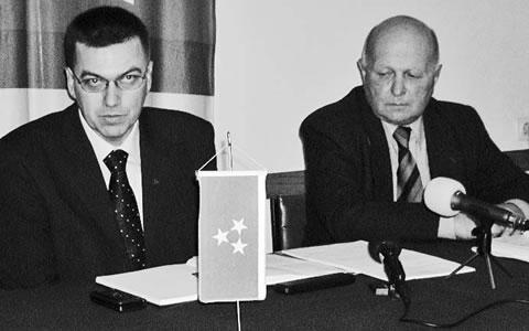 Radovan Radovanović i Čaba Laslo Mere