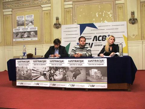 Aleksandar Jovanović, Dragan Nenadov i Aleksandra Jerkov