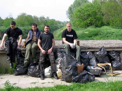 Akcija čišćenja obale kanala
