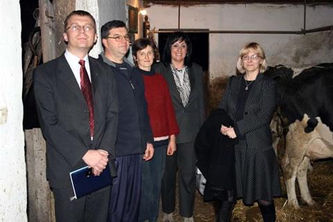 Poseta gazdinstvu Stipana Periškića