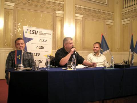 Nenad Čanak i Aleksandar Marton u Somboru