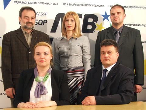 Zvonimir Štrbac, Romina Bilić, Dragan Nenadov, Nataša Terbec i Zoran Terzin