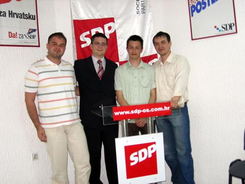 Dragan Nenadov, Domagoj Hajduković, Ivan Koledić i Ivan Marijanović