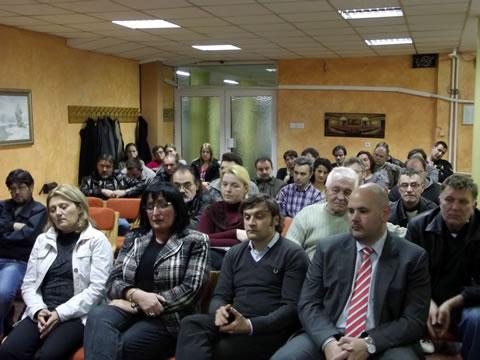 Gradski odbor sa kandidatima za potpredsednike stranke